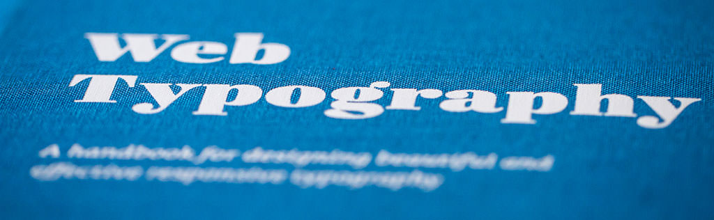 The Web Typography Book by Richard Rutter