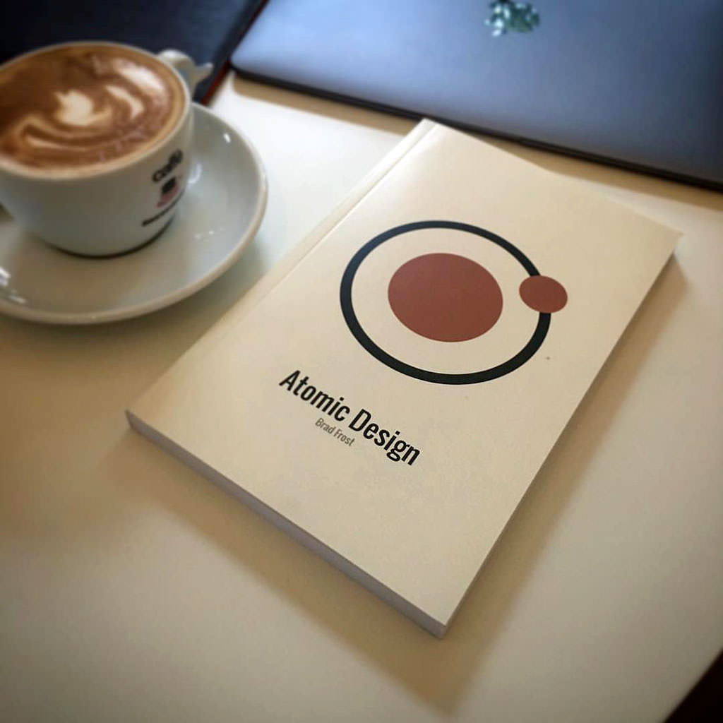 A copy of Brad Frost's Atmoic Design Book